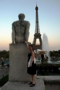 Near the Eiffel Tower in Paris