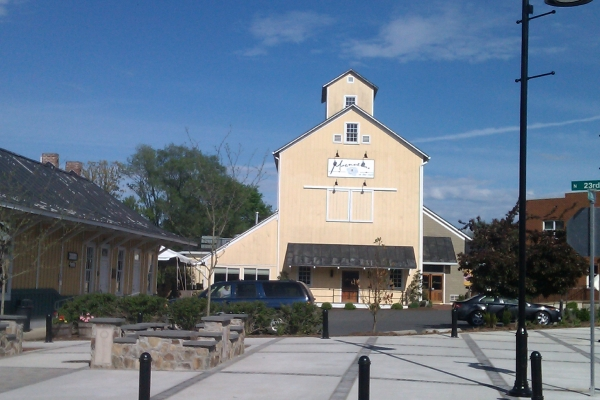 Magnolias at the Mill in Purcellville, one of favorite restaurants