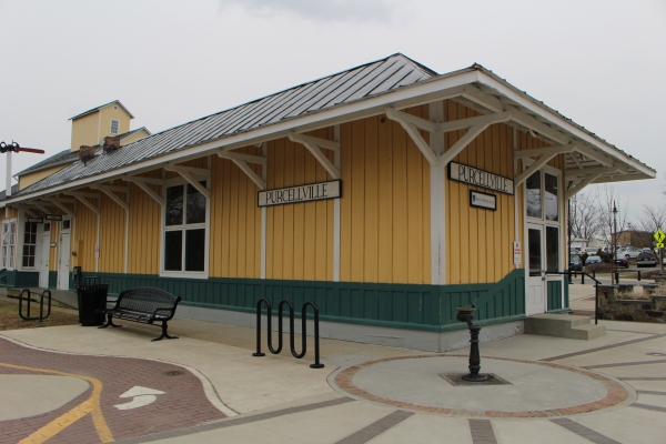 The Purcellville Train Station