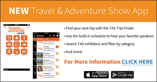 DC Travel & Adventure Show App