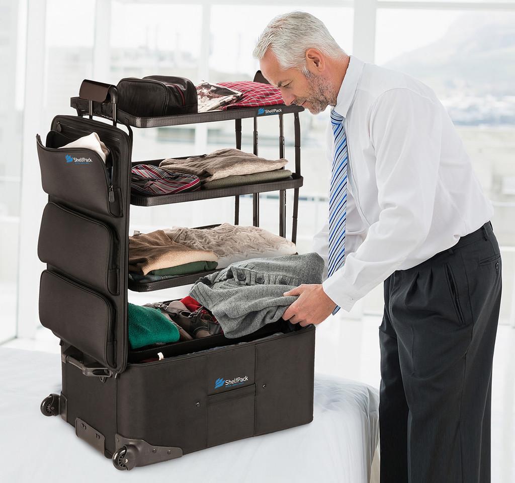 The Shelfpack Suitcase