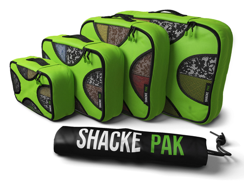 Shacke Pak Packing Cubes with Laundry Bag