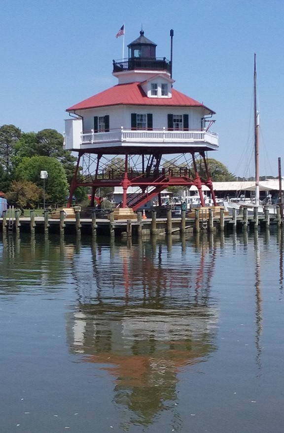 Drum Point Lighthouse, Solomon's Island, MD