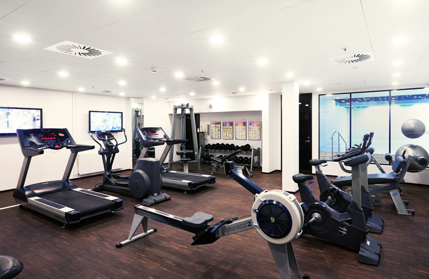 STAY FIT WITH THE HOTEL FITNESS CENTER