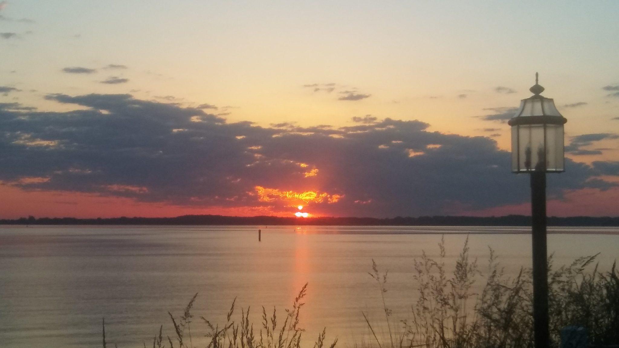 Sunrise in St. Michaels, MD