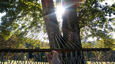 The hammock (aka My Happy Place)