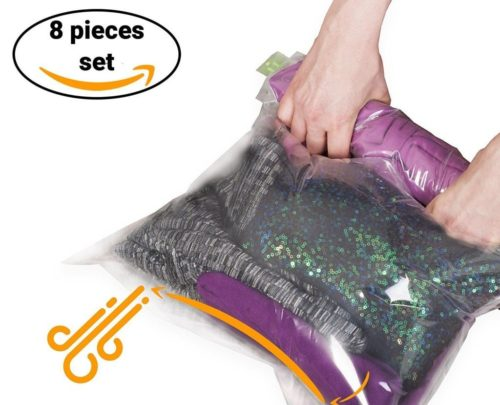 Roll-Up Space Bags