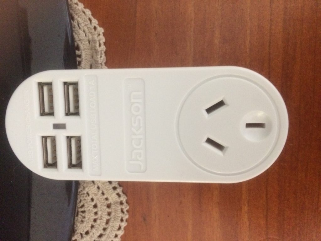Jackson Adapter with 4 USB Ports