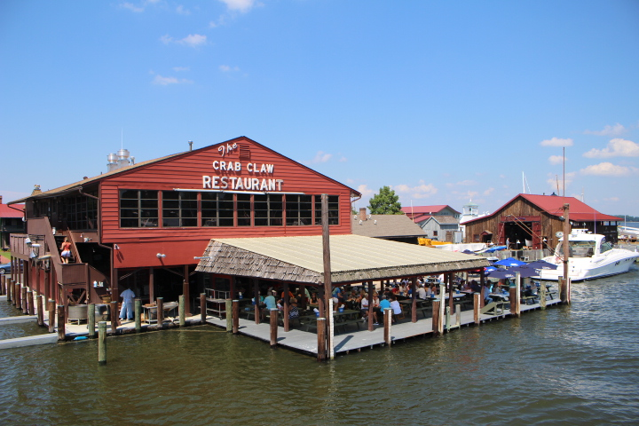 the Crab Claw Restaurant
