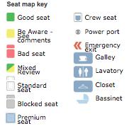 Seating Chart Key