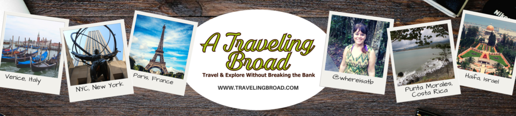 A Traveling Broad